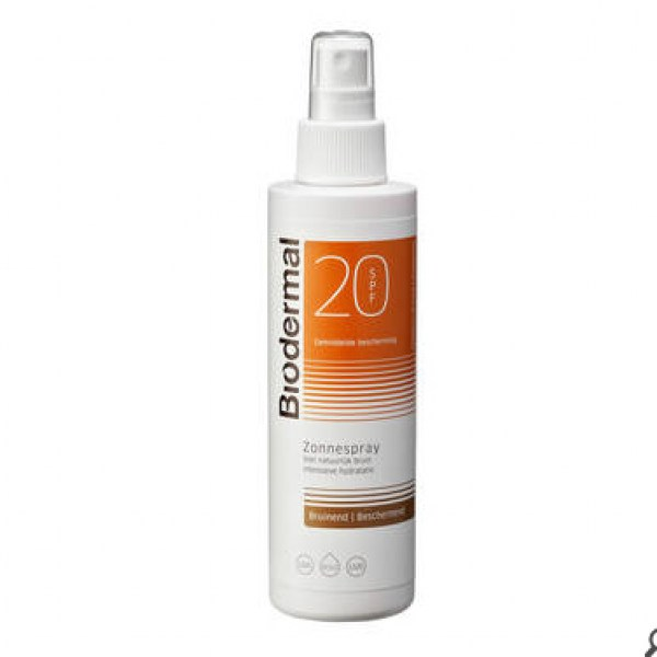 Biodermal SPF 20 Zonnebrand Spray