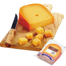 Dutch cheese Gouda mature cheese