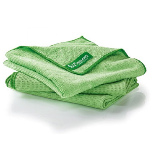Jemako Window cleaner cloth set green