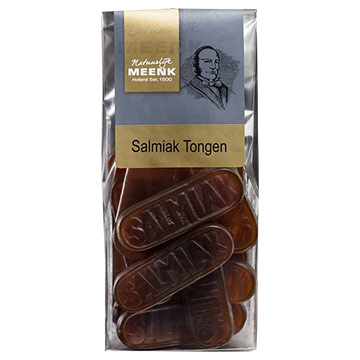Meenk Salmiak Tongen 170g