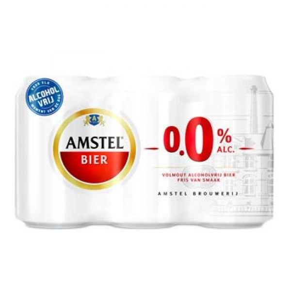 Non Alcohol Amstel Pilsener six pack