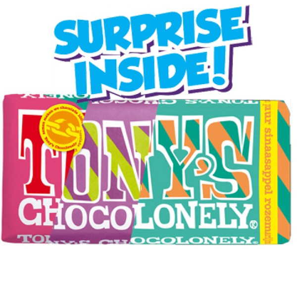 Tonys Chocolonely surprise Flavour180g