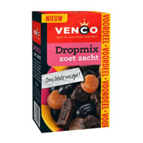 Venco licorice Soft & Sweet mix 500g