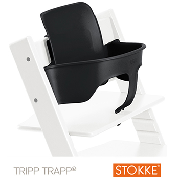 Combi High Chair Stokke Tripp Trapp Black