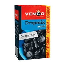 Venco Licorice mix ( Drop mix ) Salt / Zout